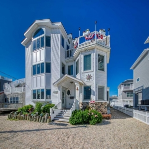 3rd from Beach,Groups,4th floor HotTub, Pets, Sleeps 8-27, huge dining table