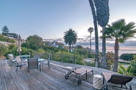 Ocean Views from Architecturally Designed Redwood and Glass Mid-Century Modern