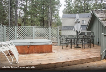 Completely remodeled in Sunriver community. No Sec. Deposit, Low Management fee