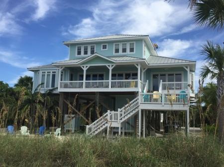 Palm Island Beach Front House - Floridays