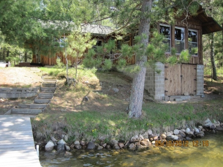 Charming, log cabin, on Kego Lake, Fifty Lakes, MN; near Crosslake and Emily