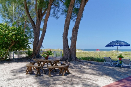Beachfront Cottages (Gulf) at Beautiful Sandy Shores on Gulf of Mexico