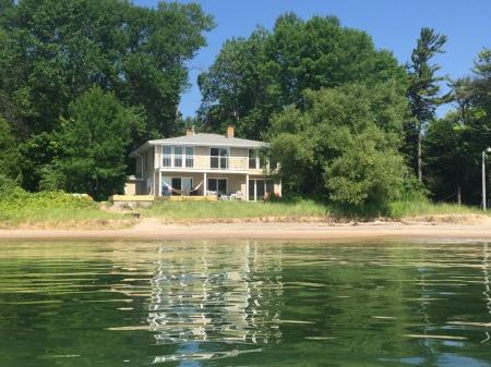 Brand New Remodeled Beachfront Home